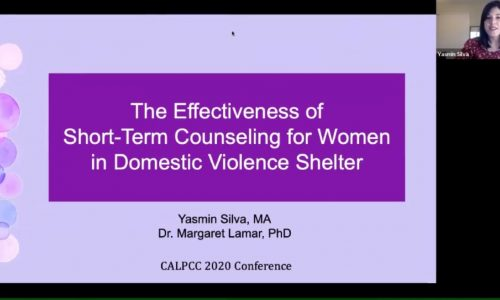 Title Screen: The Effectiveness of Short-Term Counseling for Women in Domestic Violence Shelter